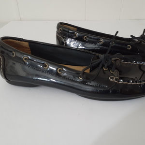 Sperry Topsider Women's Leather Slip On Flats